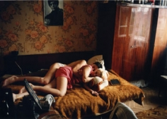 Rostov on the Don (Maxim and Tanja Sleeping), 1993, 16 x 20 inch Chromogenic Print,