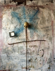 Saul Fletcher, Untitled #217 (Skull on Cross), 2009. Chromogenic print. 12 x 10 inches