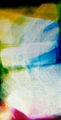 Lattice (Ambient) B Forever II, 2014, 58 x 30 inchuniquechromogenic photogram