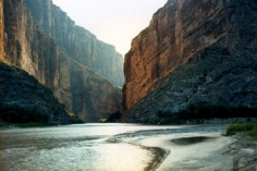"""Untitled"" [Santa Elena Canyon], 2010 Chromogenic print, 39 x 55 inches and 55 x 76 inches, [VS-10-05], Ed. of 5"
