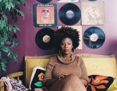 Mickalene Thomas,Afro Goddess Ex-lover's Friend,2006. Chromogenic print.