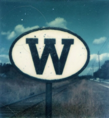 Walker Evans, Untitled, 1973/1974, 4.25 x 3.5 inch Polaroid, copyright of the artist, not for reproduction.