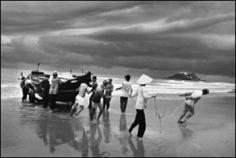 The beach of Vung Tau, Vietnam, 1995 Gelatin silver print, 20 x 24 inches