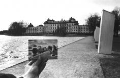 Postcard Visit, Stockholm (67-35-8-32), 1967,6 x 9 inch gelatin silver print