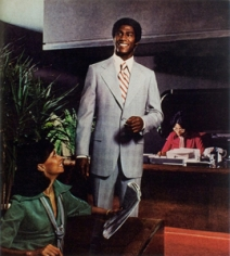 Hank Willis Thomas, Movin On Up, 1976/2008, LightJet Print, 33 x 30 inches, Edition of 5 +1AP