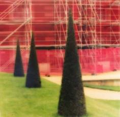 """Hampton Court Gardens, England, 2008""  [10-08-6c-11], 19 x 19 inch / 28 x 28 inch Chromogenic Print; Edition of 15 / 38 x 38 inch Chromogenic Print; Edition of 6"