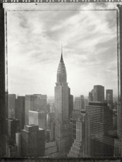 Chrysler Building, 1995, 11.5 x 15 dust grained photogravure, edition 5/50