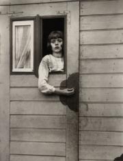 Girl in a Circus Caravan, ca. 1926