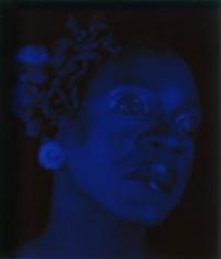 Lyle Ashton Harris, Blue Billie, 2003, Edition 4/10, 28 x 24 inch Digital ink jet print on watercolor paper.
