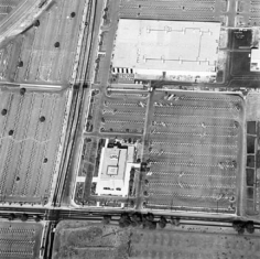 Parking Lots (Rocketdyne, Canoga Park) #12, 1967-99, 15 x 15 inch Gelatin Silver Print, Initialed and editioned on verso, Edition 23/3
