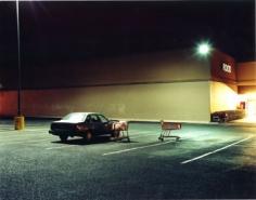 Supermarket Car Park, El Paso, Texas, 2000 Chromogenic print, 30 x 40 inches