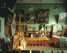 Andrew Moore, Restoration Studio, Russia, 2002, 50 x 60 inch, Chromogenic Print, Signed, titled, dated and editioned on verso