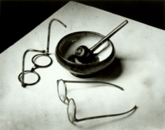 Mondrian's Pipe and Glasses, 1926, Printed 1981