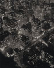 Bernice Abbott Nightview, New York, 1932