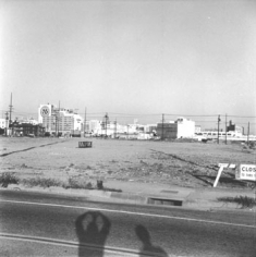 Ed Ruscha, Vacant Lots Portfolio, 1970, 22 x 22 inch, 2/4 Gelatin Silver Prints (only sold together), mounted to board, Printed in 2003, Edition 7/35