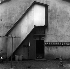 Tokyo Labyrinth - Wakabayashi, Setagaya, 1987, 16 x 20 inch gelatin silver print, Signed, titled, dated and editioned on verso, Edition of 20