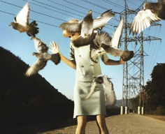 """Alex Prager, """"Eve,"""" from the series """"Big Valley,"""" 2008, Chromogenic print, 24 x 32 inches, Edition of 7"""