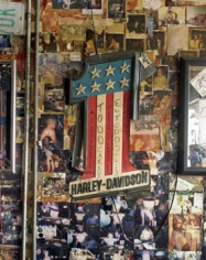 Lisa Kereszi, Harley Davidson #1, Boot Hill Saloon, Daytona, FL, 2005, 20 x 24 inch Chromogenic print, Signed, titled, dated and editioned on verso, Edition of 5