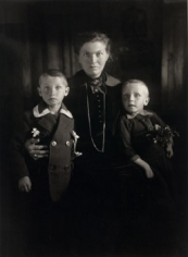 Widow with her Sons, ca. 1921