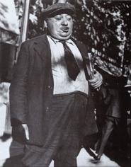 Man with Pamphlets, Paris, 1933-38