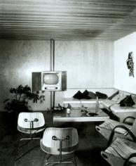 Goodman Residence, 1952 Vintage gelatin silver print, 10 x 8 inches