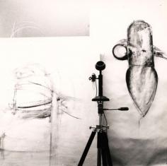 Jay DeFeo, Untitled, 1973. Gelatin silver print. 7.5 x 7.5 inches.