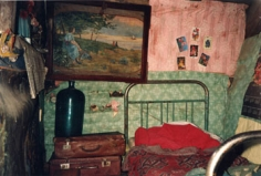 Sasha's Attic Room, Rybinsk, 1991, 16 x 20 inch Chromogenic Print, Edition of 10
