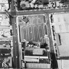 Parking Lots (May Company, 6067 Wilshire Blvd.) #25, 1967-99, 15 x 15 inch Gelatin Silver Print, Initialed and editioned on verso, Edition 23/3