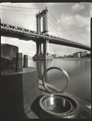 Manhattan Bridge, 1994, 11.5 x 15 dust grained photogravure, edition 5/50