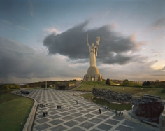Motherland, Kiev, 2003, Chromogenic print, available 30 x 40 inches edition of 10, 40 x 50 inches edition of, 50 x 60 inches edition of 3