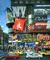 Andrew Moore, Target, Times Square, New York, 2002, Chromogenic print available as: 30 x 40 inch, edition of 10; 40 x 50 inch edition of 5; 50 x 60 inch edition of 3; and 70 x 90 inch edition of 3