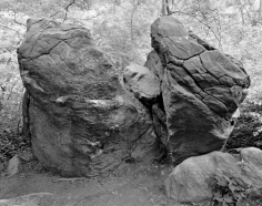 Split Rock, The Rambles, Central Park 2014, Gelatin silver print, 68 x 54 inches, Edition of 6