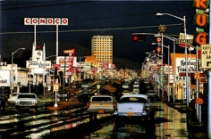 Ernst Haas, Route 66, Albuquerque, New Mexico, 1969, 20 x 30 inch Dye transfer print, Edition 28/50