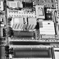 Parking Lots (Federal, County & Police Building lots, Van Nuys) #29, 1967-99, 15 x 15 inch Gelatin Silver Print, Initialed and editioned on verso, Edition 23/3