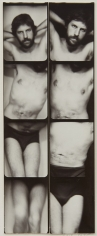 Untitled, PB #1183, 1975. Vintage gelatin silver photobooth prints, 7 7/8 x 3 inches.