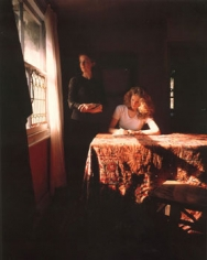 Girl Writing an Affidavit, 1997