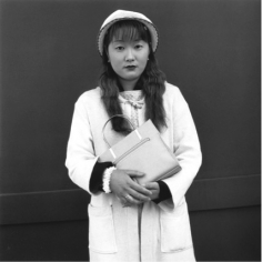A Nurse on An Internal Medicine Ward, Who'd Recently Moved Here From The Provinces, 1999.Gelatin silver print.14 x 14 inches,Edition of 20