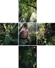 Ransom Turned Around, 2008, Chromogenic Prints (4 Panels), Signed on verso. Available in 24 x 80 inches, Edition of 12 and 40 x 120 inches, Edition of 7.