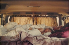 Justine Kurland, Baby Pictures (Sleeping in Van), 2006, 15.75 x 20 inch Chromogenic print, Signed, titled, dated and editioned on label on verso, Edition of 8