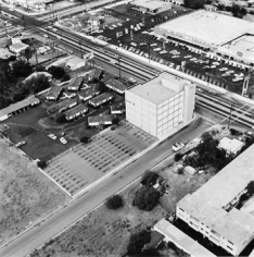 Parking Lots (7101 Sepulveda Blvd., Van Nuys) #20, 1967-99, 15 x 15 inch Gelatin Silver Print, Initialed and editioned on verso, Edition 23/3
