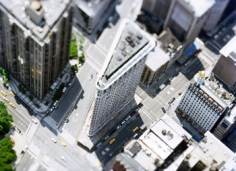 site_specific_NYC_07, 2007 [Flatiron Building], 45 x 61 inches framed Archival Pigment Print, Edition of 6