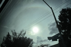 Sun Halo, Greyhound to DC #3, 2014, 18.5 x 27.5 inch chromogenic print