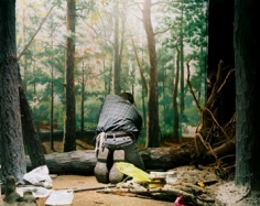 Lisa Kereszi, Painter in Diorama, Museum of Natural History, 2005, 30 x 40 inch Chromogenic Print, Signed, titled and dated on verso of mount, Edition of 5