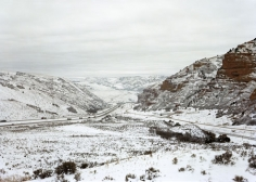 Untitled, Near Echo, UT (right side of diptych-can be sold separately), 2007, 39 x 55 inch Chromogenic Print, Signed, titled, dated and editioned on verso, (VS-07-41) Echo Canyon-West, Edition of 5