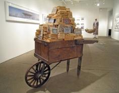 Schubkarten (Wheelbarrow), 2007, Dimensions variable, Mixed media, Unique