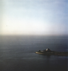 Adler Planetarium, from the series Revealing Chicago, 2004, 30 x 30 or 40 x 40 inch chromogenic print