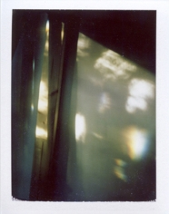 """mirror prism,"" from the series ""The Sun Room: Interchanges, B-sides & Remixes,"" 2008- ongoing, Polaroid, 4.25 x 3.5 inches, unique print"