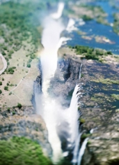 Victoria Falls, Zambia/Zimbabwe (V04), 2007, 41 x 61 inch archival pigment print, Signed, titled, dated and editioned on verso, Edition of 6