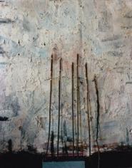 Saul Fletcher, Untitled #237 (Sticks), 2011. Chromogenic print. 12 x 10 inches