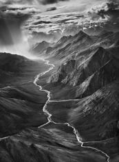 Sebastião Salgado,The Brooks Range, Alaska, 2009. Gelatin silver print, 24 x 35 inches.